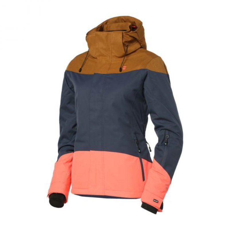 Jacket Persian Blue Snow Rehall Iiliseer Womens xBordeQWC