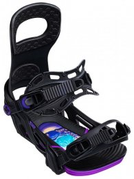 BENT METAL Snowboard Binding METTA  black M  ( 36-39.5)