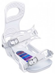 BENT METAL Snowboard Binding METTA white  M  ( 36-39.5)