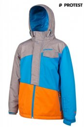 Boys Snow Jacket Rolf JR. Azure