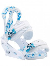 Burton Snowboard Binding Citizen White Blue M 36,5-40