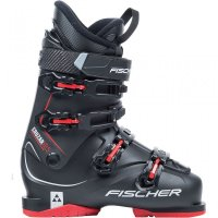 Fischer Cruzar X 8.5 black/black/red Thermoshape  - Men...