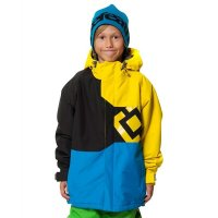 Horsefeathers Boys Snow Jacket PYXIS II Yellow
