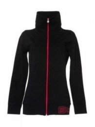 Horsefeathers Hoodie Lucia Womens black Größe L