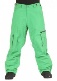 Light Mens Snow Pant Fuse kelly green