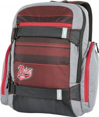 Nitro Rucksack LOCAL red strpes 47 x 30 x 17 cm 27 Liter