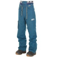 Picture Mens Snow Pant UNDER petrol blue