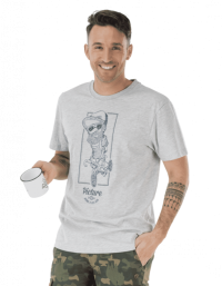 Picture Mens T-Shirt BICYCLE grey
