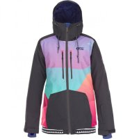 Picture Womens Snow Jacket LANDER print green/black