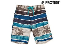 Protest Boardshort Swim Short Wind Cool Aqua