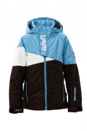 REHALL Girls | Kids Snow Jacket Desiraye JR peacok blue