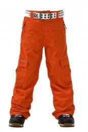 REHALL Junior | Kids Snow Pant Danzell Junior orange.com