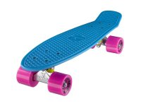 RIDGE R22  MINI CRUISER SKATEBOARD blue-pink VON RIDGE...