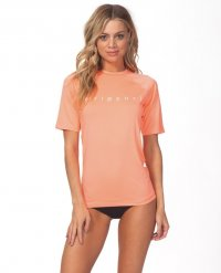 RIPCURL Women Dawn Patrol  Surf-Lycra UV 30+ coral