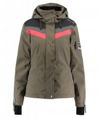 Rehall  Womens Snow Jacket FRAY-R bungee cord