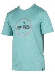 Rip Curl  Mens T-Shirt Search Graphic aqua