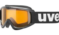 UVEX Kids/Junior Skibrille | Goggle snowcat black  single...