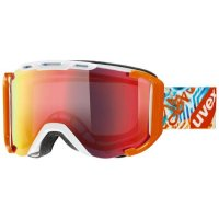 UVEX Skibrille | Goggle Snowstrike  white/orange  double...