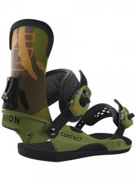 Union Snowboard Binding Contact camo L (43.5-48)