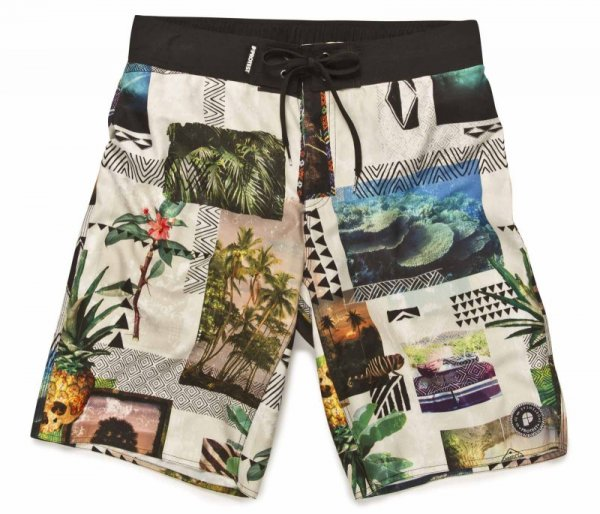 Protest Boardshort Swim Short Cook Grey Green