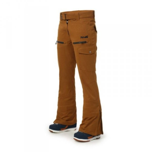 REHALL Womens Snow Pant TyraR copper brown